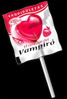 Vampiroletas de fresa