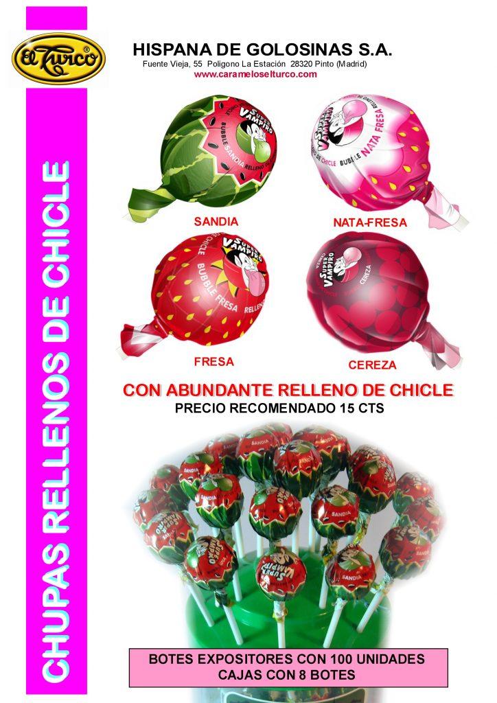 Hoja de catalogo CHUPAS RELLENOS