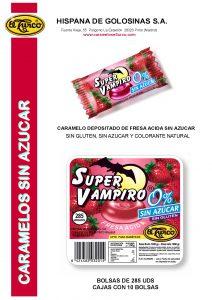 Hoja de catalogo SUPER VAMPIRO SIN AZUCAR