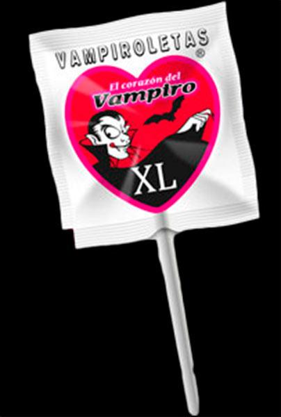 VAMPIROLETAS DE FRESA XL