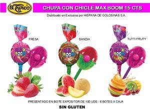 Hoja de Catálogo de Max Boom Chupas