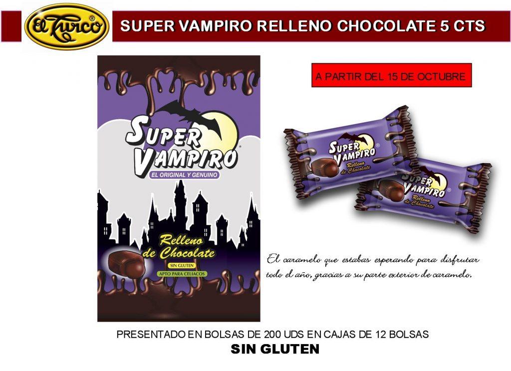 Hoja de Catálogo de Supervampiro Choco